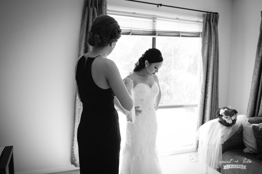 Ty & Maxine ~ Getting Ready - B&W-9 copy