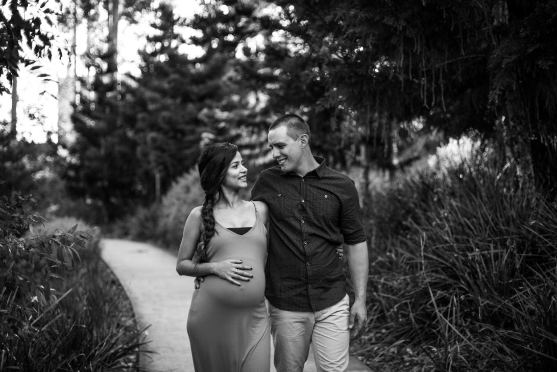Jeremy + Ann - Maternity B&W-18