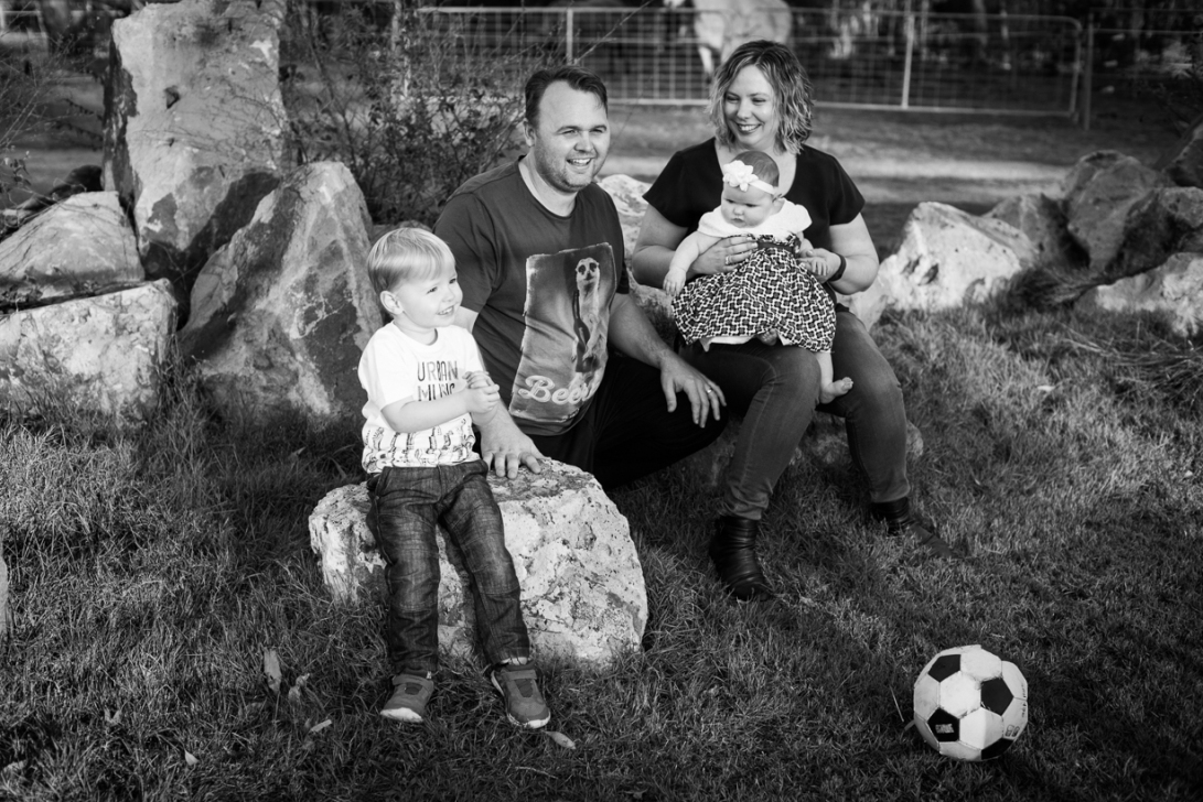 Holznagel Family B&W-9