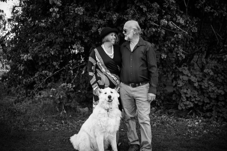 Holznagel Family B&W