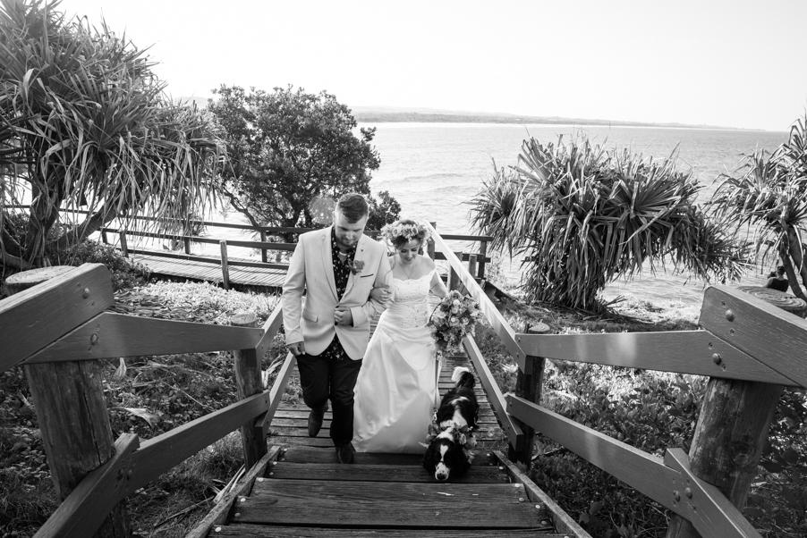 Alex & Lauren's Wedding B&W-2