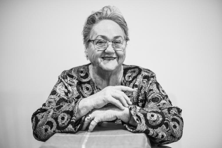 B&W - Ruth's 80th Brithday Family-14