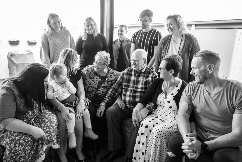 B&W - Ruth's 80th Brithday Family-39