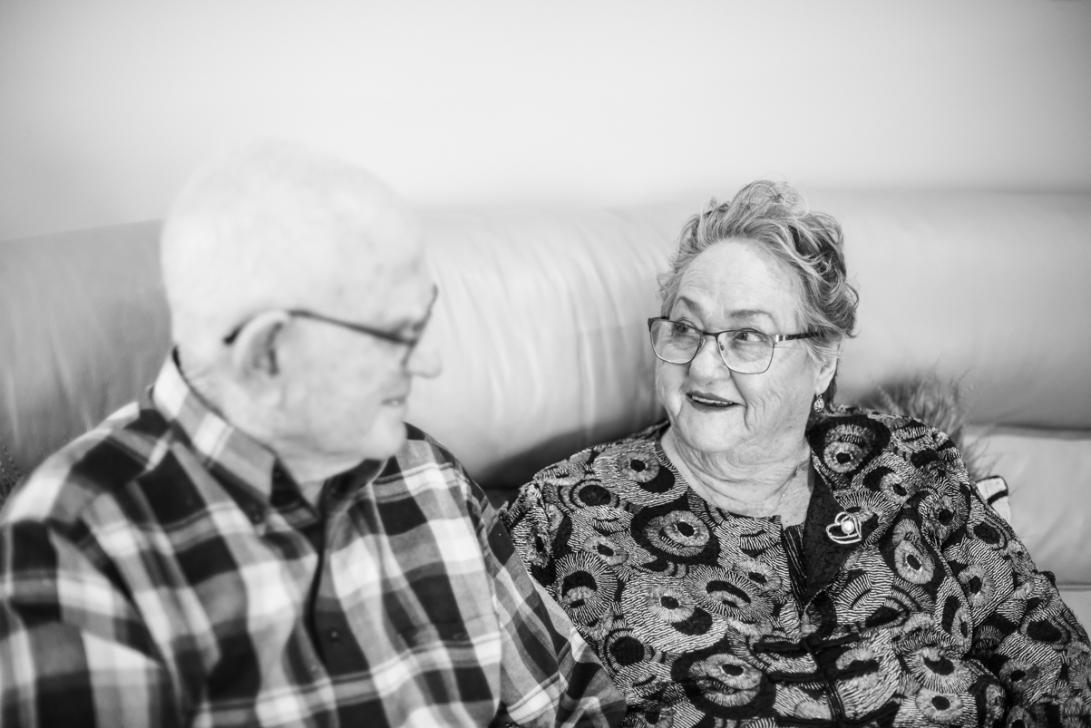 B&W - Ruth's 80th Brithday Family-5