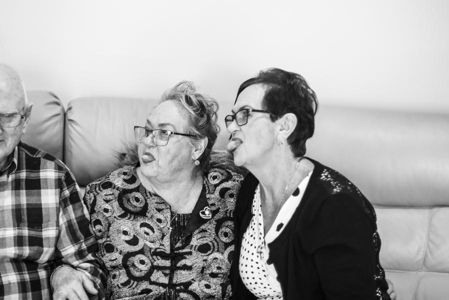 B&W - Ruth's 80th Brithday Family-8