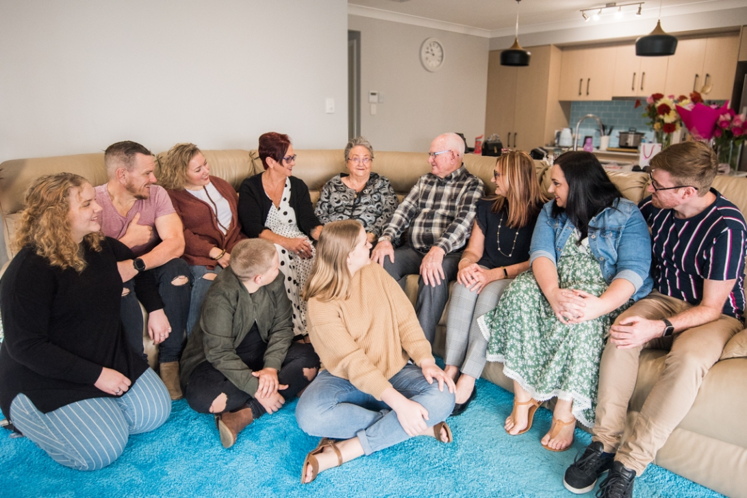 Ruth's 80th Brithday Family-90