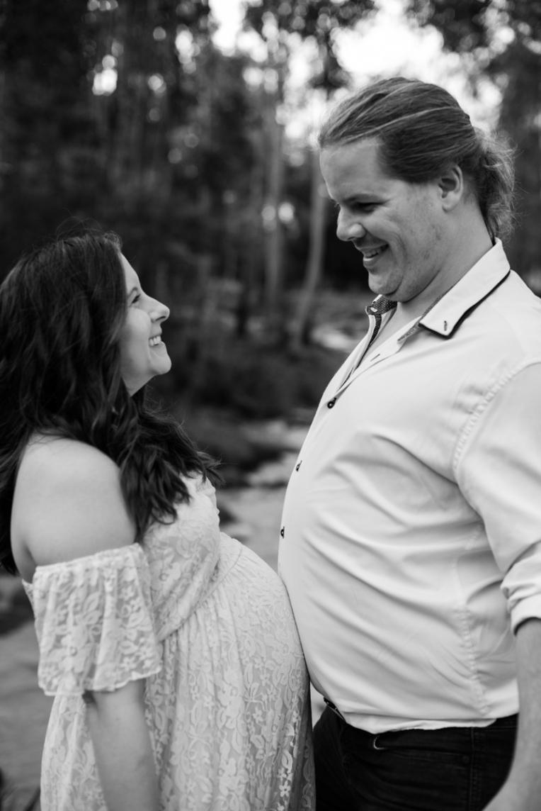Scott + Ashley Maternity - B&W-2