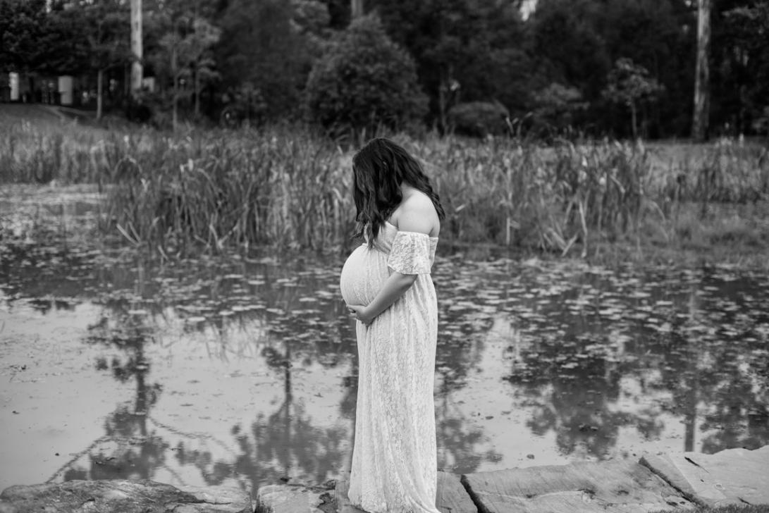 Scott + Ashley Maternity - B&W-66